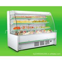 供应深圳冷柜厂家,保鲜冷藏蔬菜水果风幕展示柜