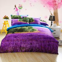 3d立体床单四件套3D全棉油画被单被套活性纯棉床上用品四件套加盟