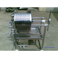 微型板框式压滤机 (不锈钢) 型号:WXCR-100-20