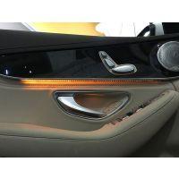 1516款奔驰新C级C200 C180 CLS GLC260原厂氛围灯车内气氛灯改装