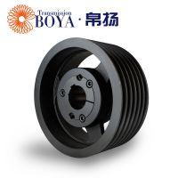 浙江电机皮带轮生产spz90-06选无锡帛扬锥套皮带轮