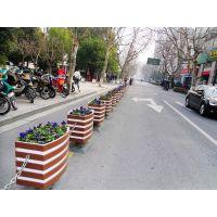 PVC花箱户外花箱 微发泡板 防腐花箱 道路花箱 隔离带花槽