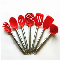 阿里巴巴热销硅胶厨具套装 硅胶不粘锅厨具 硅胶厨具厂家批发直销 质量好 绿色环保无毒