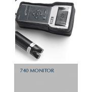 英国partech/740中国总代便携式SS测定仪/便携式污泥浓度计(悬浮物浓度计(10米缆线),