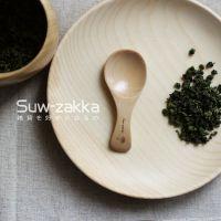 Suw-zakka/舒维 原木刻花迷你茶勺 创意餐具 专供 zakka