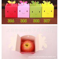 圣诞节 平安夜 苹果许愿盒 苹果装饰盒 礼品盒 单个水果包装盒