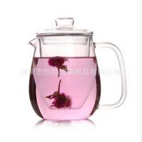 悦物 玻璃茶具花茶壶套装 特价耐高温玻璃茶具 礼品 带盖套装组合