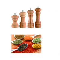 Manual pepper & salt mill
