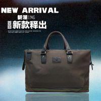 2015夏秋季时尚休闲男性旅游包袋 成熟魅力商务大气棕色酷炫包袋