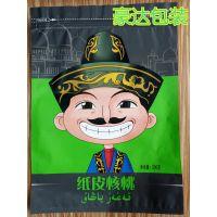 河北核桃卡通版500克包装袋生产厂家,支持订做