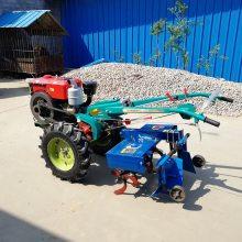厂家6马力柴油微耕机四驱微耕机 后旋微耕机后旋开沟机除草