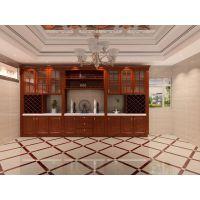 室内装饰材料,大厅护墙板集成墙面-竹木纤维板,艺术吊顶