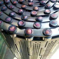 乾德机械专业生产不锈钢链板 冲孔式链板