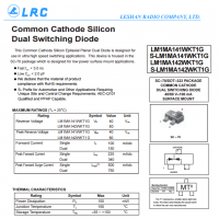 LRC开关二极管 LM1MA142WKT1G