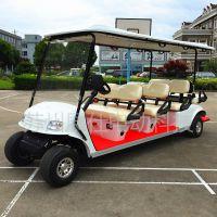 上海电动高尔夫球车 景区参观车 游乐园6座四轮观光车