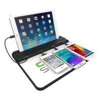 桌面台式手机充电站 苹果手机加油站 家庭桌面万能充电站