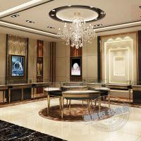 特别珠宝展柜设计配特别的产品