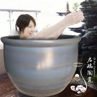 景德镇启瑞陶瓷供应辽宁洗浴中心1.1米陶瓷洗浴大缸