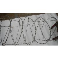 孟业供应刀片刺绳 防爬网 热镀锌刀片防护网 墙面防盗网