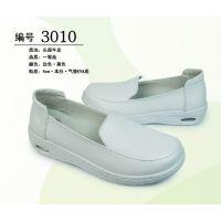 广州铂雅厂家直供3010真皮气垫护士鞋