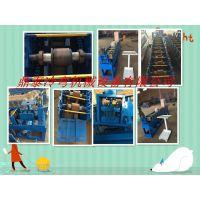 鼎泰机械提供75mm锌钢百叶窗叶片成型机设备