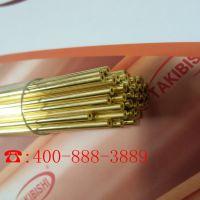 广东厂家竹菱 细孔放电打孔机铜管 电极管 h65黄铜管1.5*400mm