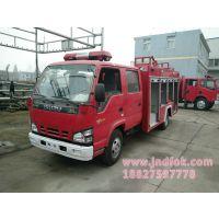 保障企业安全提高消防能力福州食品公司在我公司订购五十铃5吨泡沫消防车
