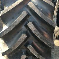 供应前进大型拖拉机钢丝真空人字花纹轮胎 600/65r28