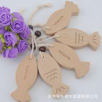 厂家直销 榉木鱼型挂件 促销赠品 送礼
