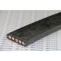 上海上力供应?WDZ-YFFBG低烟无卤扁电缆钢丝加强型
