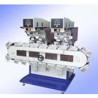 供应恒晖SP-848VD2双头四色履带移印机适合各种繁杂工艺印刷