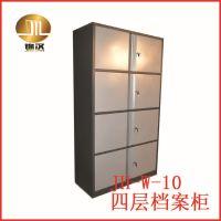 【广州锦汉】豪华不锈钢文件柜 定做不锈钢柜类 四层档案文件柜
