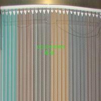 金属垂幕帘、螺旋金属网帘(工厂供应,质量保证)