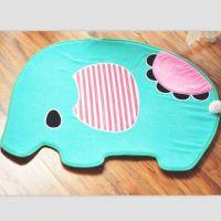 日本忧伤马戏团薄荷小象 卡通毛绒小象系列地垫脚垫门垫 家居用品
