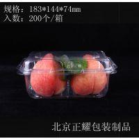 厂家直销一次性透明塑料PET吸塑水果蔬菜包装盒保鲜盒一斤装