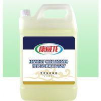 季铵盐消毒液5kg商用 厨房超市生鲜部食品加工厂设备专用消毒水