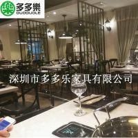供应连锁店蒸汽火锅桌椅 精致实木蒸汽火锅桌