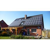 3KW农村家庭屋顶分布式光伏发电系统成本 并网型太阳能光伏发电