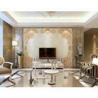 朱居家 欧式瓷砖背景墙3D立体卧室沙发客厅电视背景墙纸 博卡拉