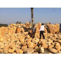 供应园林石、太原市园林景观石、大同黄蜡石 草地点缀石材