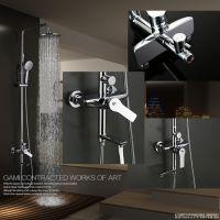 GAMI 淋浴花洒套装 水龙头冷热淋浴器沐浴花洒全铜增压喷头