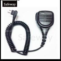 Two way radio waterproof IP56 remote speaker mic