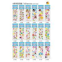 卡通儿童贴纸 迪士尼 米奇泡泡棉贴纸 手机装饰贴 日记贴纸