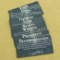 饰品包装卡片 复古英文字母经典外贸小卡纸 黑色纸质通用配件