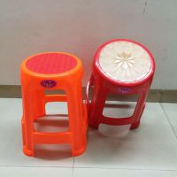 厂家批发塑料家用激光椅子 防滑浴室方凳 板凳  高凳 加厚餐桌凳