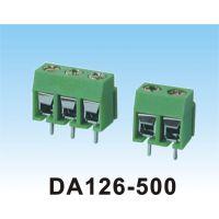 厂家现货DA126-5.0mm间距电源接线端子 插拔式环保铜端子