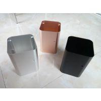加工定制铝合金型材 电子铝外壳 挤压6063铝合金外壳