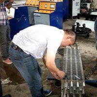 赛思特供应散热器冷凝器管与散热片胀管机
