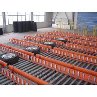 广州新塘无动力滚筒输送线,汽车轮胎输送生产线
