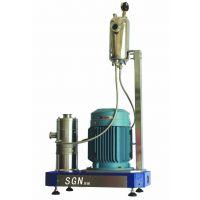 SGN/思峻 GRS2000高粘土浆料高速剪切分散机